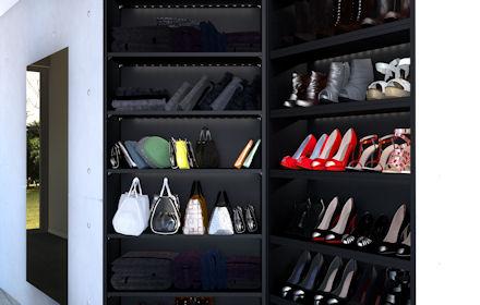 Begehbarer kleiderschrank stars  Ein begehbarer Kleiderschrank wie Paris Hilton | my-wohnidee